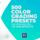 500 Cinematic Color Presets, 15 VHS Video Effects, Old Film Looks - VideoHive Item for Sale