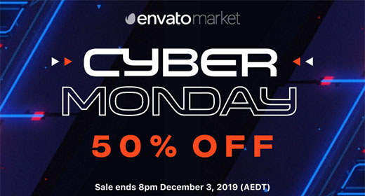 Cyber Monday 50% OFF