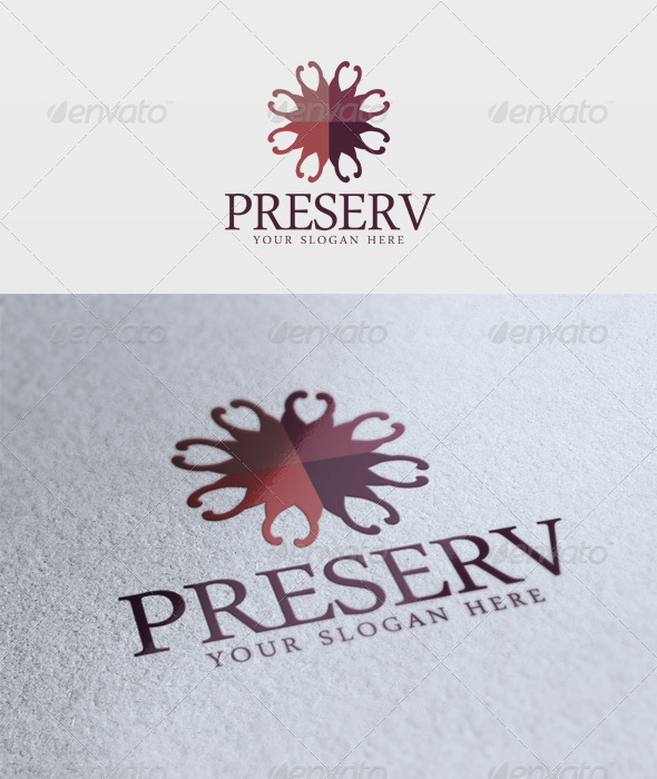 Preserv Logo - Vector Abstract