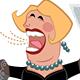 Opera Singer; Retro Cartoon Style - GraphicRiver Item for Sale