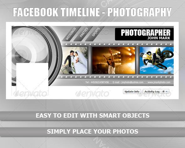 Facebook Timeline - Photography - Facebook Timeline Covers Social Media
