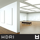 High Resolution Loft Gallery HDRi Map 008