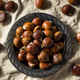 Raw Organic Brown Chestnuts - PhotoDune Item for Sale
