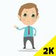 Cartoon Businessman Presentation Pack - VideoHive Item for Sale