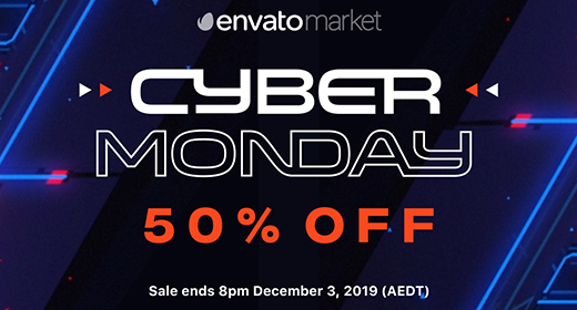 Cyber Monday Sale! 50% off  Photoshop Action - graphic templates