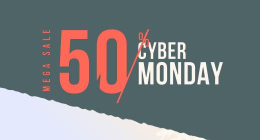 Cyber Monday 2019 - Mega Sale 50% for PrestaShop Theme - Leotheme