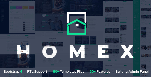 Homex - Real Estate Template by Unicoder