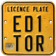 License Plate Editor - GraphicRiver Item for Sale