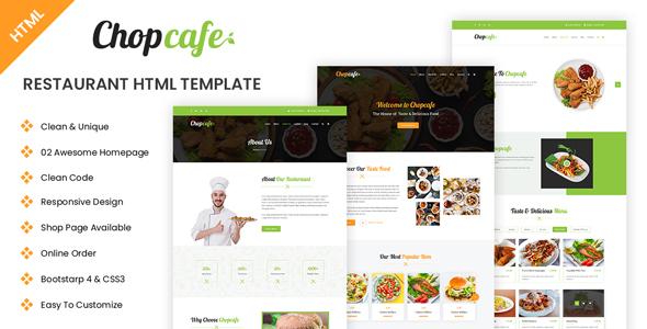 Chopcafe - Restaurant HTML Template