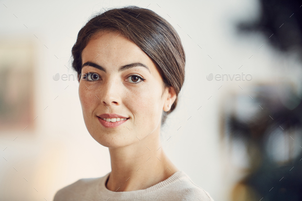 Elegant Middle-Eastern Woman - Stock Photo - Images