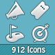 228 Pixel Perfect Icons - GraphicRiver Item for Sale