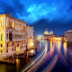 Grand Canal and Basilica Santa Maria della Salute, Venice, Italy - PhotoDune Item for Sale