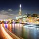London at night at Thames river, United Kingdom - PhotoDune Item for Sale