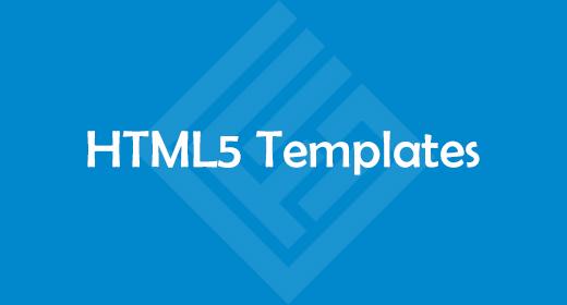 HTML5 Templates