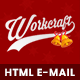 Workcraft | Newsletter Responsive E-mail Templates + Stampready Builder