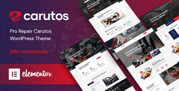 Carutos - Car Services WordPress Theme by themelexus