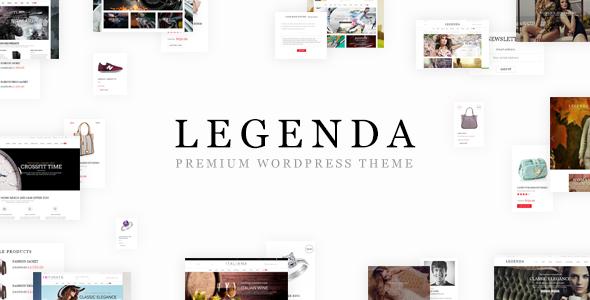 Legenda - Responsive Multi-Purpose WordPress Theme