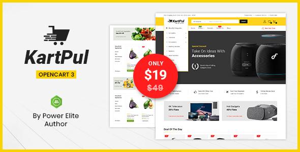 KartPul - Multipurpose OpenCart 3 Theme