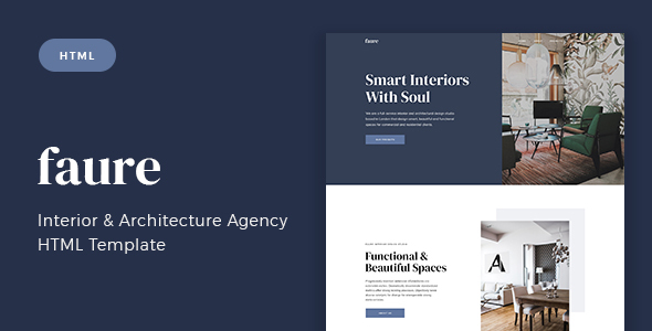 Faure - Interior & Architecture Agency HTML Template by gracethemes_st