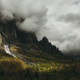 Ray of light on cliffs and forest in the french alps - PhotoDune Item for Sale