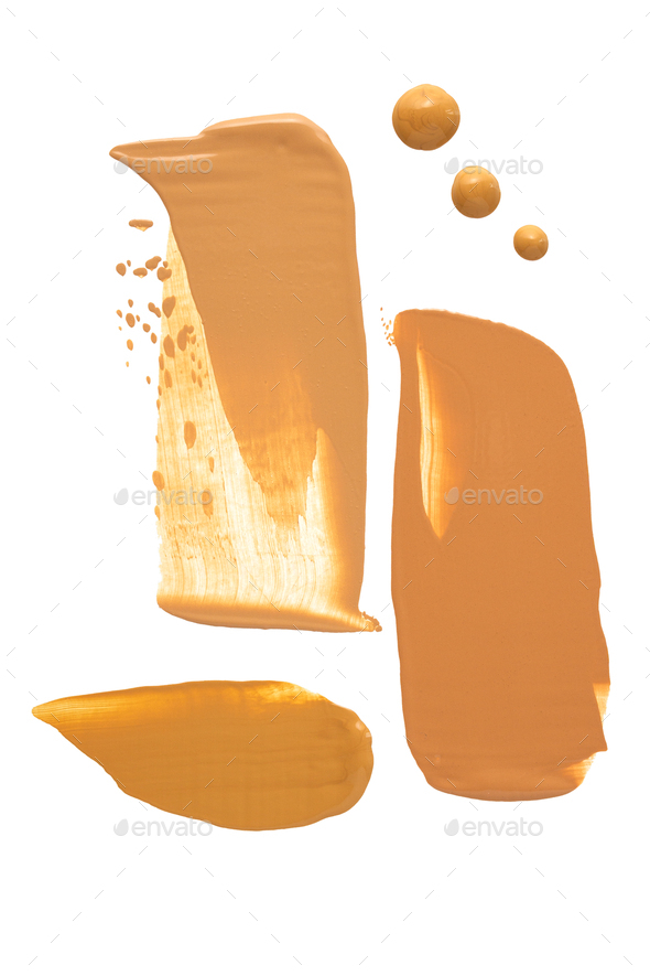 Cosmetic swatches. - Stock Photo - Images