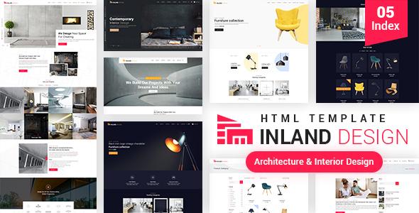 Inland Design - Responsive HTML Template by kamleshyadav