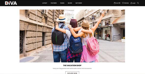 Minimal And Modern Shopify Theme By Adornthemes