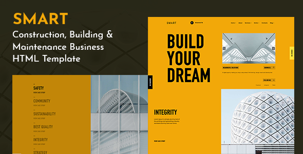 SMART - Creative Corporate Agency Template