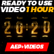 Countdown - Xmas Clock 1 Hour - VideoHive Item for Sale