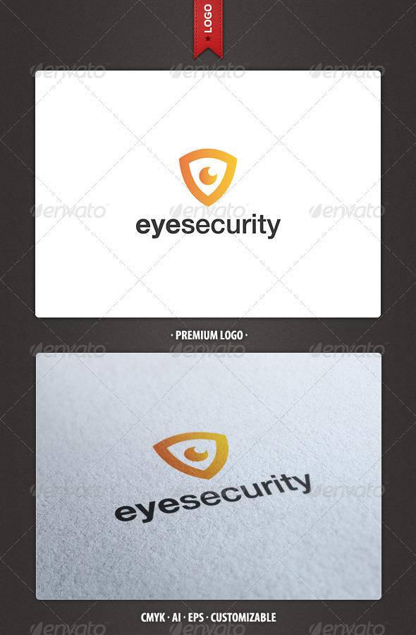 Eye Security Logo Template - Symbols Logo Templates