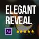 Elegant Shiny Bokeh Logo Reveal - VideoHive Item for Sale