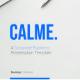 Calme - Corporate Business Presentation Keynote Template