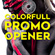 Colorfull Promo Opener - VideoHive Item for Sale