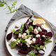 Beetroot cheese salad carpaccio with arugula and lemon. - PhotoDune Item for Sale