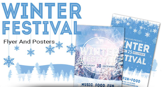 Winter Festival Holiday Poster