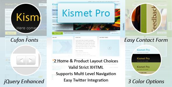 Free Download Kismet Pro - HTML Nulled Latest Version