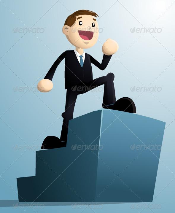 Successful Businessman - Characters Vectors