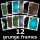 Grunge Frame Collection - GraphicRiver Item for Sale