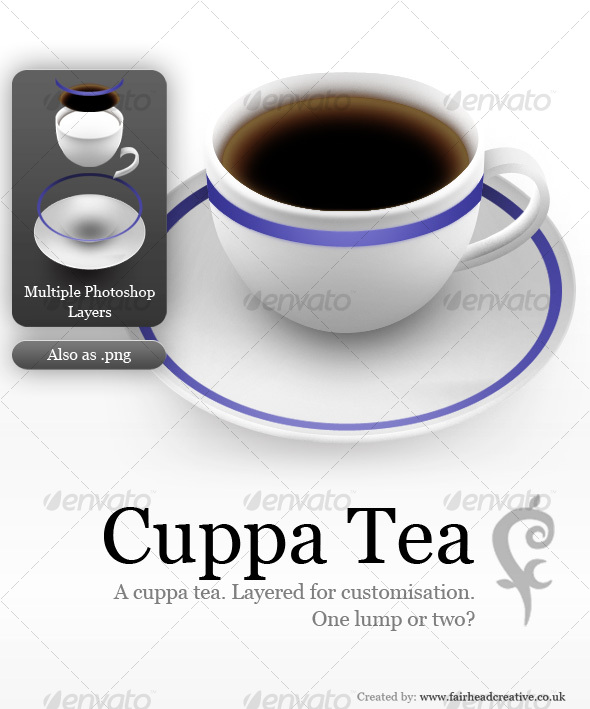 Cuppa Tea - Web Icons