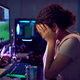 Stressed Teenage Girl Being Bullied Online Whilst Gaming At Home - PhotoDune Item for Sale