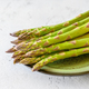 Fresh asparagus on the plate - PhotoDune Item for Sale