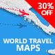 World Travel Maps - VideoHive Item for Sale