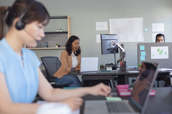 Business professionals at work - Stock Photo - Images