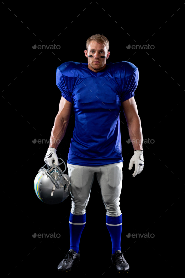 American football player - Stock Photo - Images