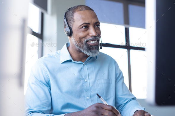 Business professional at work - Stock Photo - Images