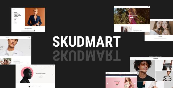 Download Skudmart – Clean, Minimal WooCommerce Theme Free Nulled