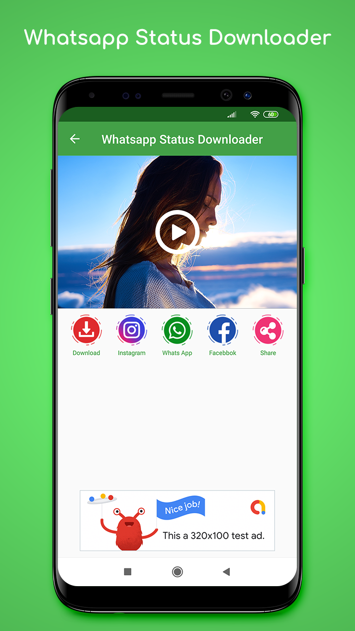 Whatsapp Status Saver Downloader With Admob Ads Android Apps