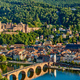 Heidelberg town on Neckar river, Germany - PhotoDune Item for Sale