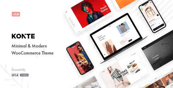 Konte - Minimal & Modern WooCommerce WordPress Theme