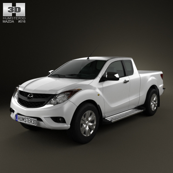 Mazda BT-50 Crew Cab 2012 - 3DOcean Item for Sale